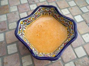 Kalte Orangen-Möhren-Suppe