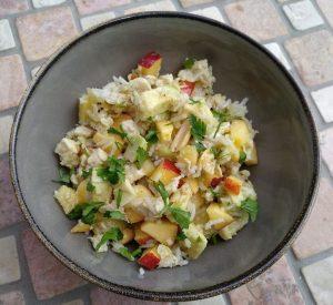 Nigerianischer Reissalat