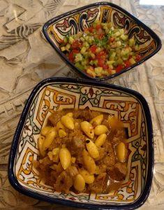 Tfaya - Lammfleisch mit Mandeln