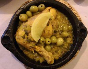 Hähnchen mit Salzzitronen und Oliven