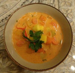 Thai-Curry mit Kürbis