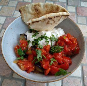 Köpoğlu - gebratene Auberginen mit Joghurt