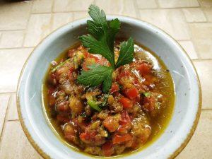 Nazkhatun - Auberginen-Granatapfelsalat