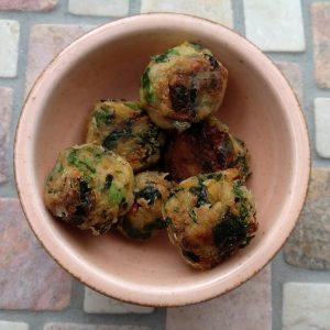 Curry-Kartoffelbällchen
