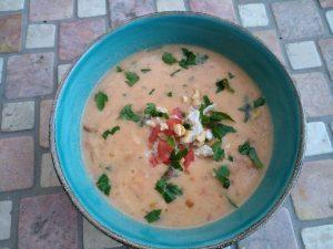 Nigerianische Erdnuss-Suppe