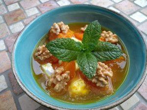 Aprikosen-Joghurt-Dessert