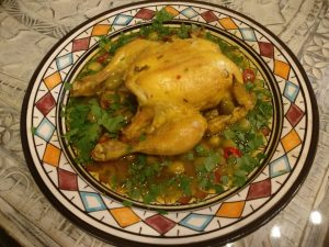 Djaj Mhamar - Hähnchen aus dem Ofen
