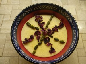 Fereni - persischer Pudding