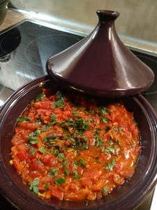 Paprika-Tomaten-Tagine