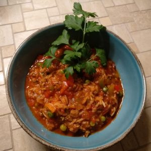 Reisfleisch Balkan-Style