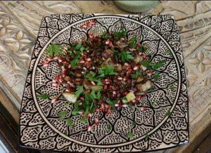 Orientalischer Linsensalat